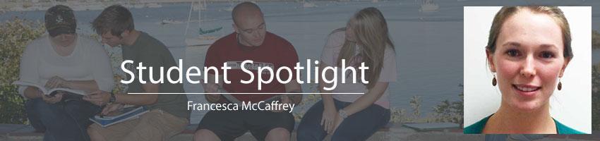 Francesca McCaffrey Student Spotlight
