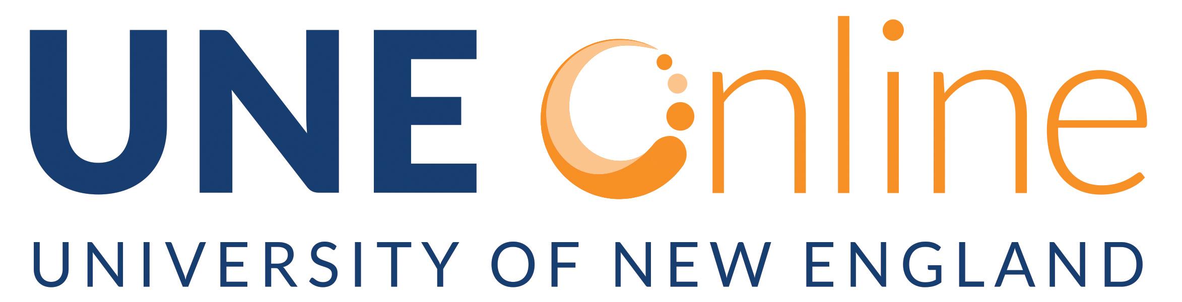 UNE Online Logo