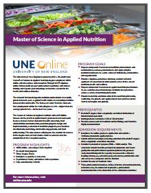 Applied Nutrition brochure download