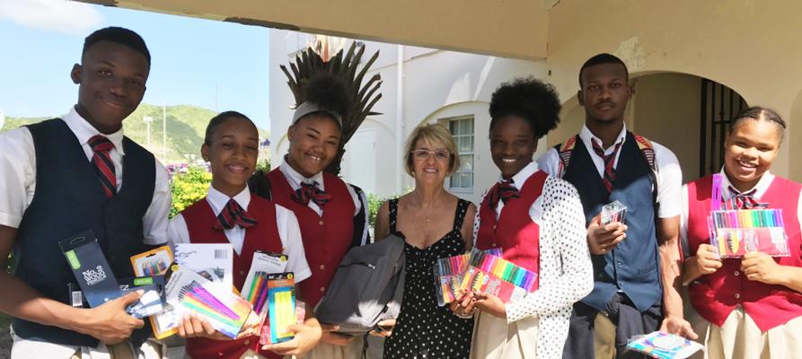 School Supplies St. Maarten
