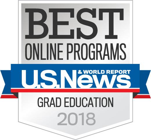 Graduate Programs in Education 2018 US News & World Report Best Online Programs