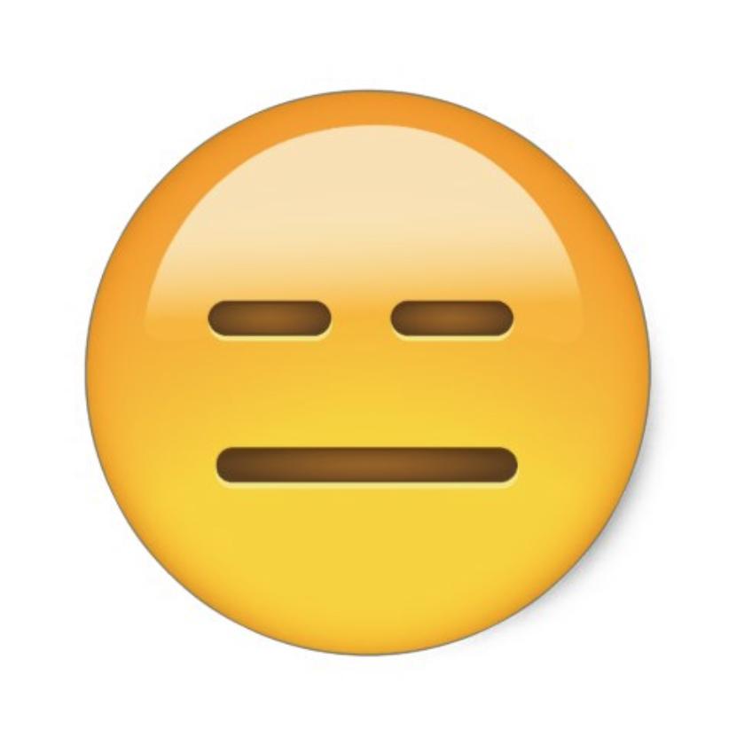 expressionless emoji